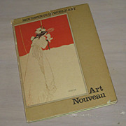 SALE Vintage Art Nouveau Book Illustrated  Movements in World Art