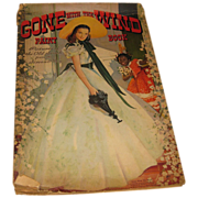 SALE Vintage Gone with the Wind Paint Book 1940 First Edition
