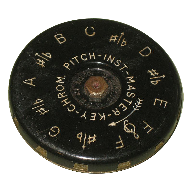 Vintage Master-Key Chrom Pitch Instrument