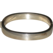 Beautiful Oblong Sterling Silver Hinged Bangle Bracelet Italy