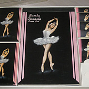 SALE PENDING Duratone  Vintage Samba Canasta Set Playing Cards Ballerina, original box