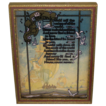 Vintage Framed Motto Poem  &quot; My Friend&quot;  J P McEVOY Sailing Ships