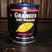 Tobacco Advertising Tin-Granger Pipe Tobacco