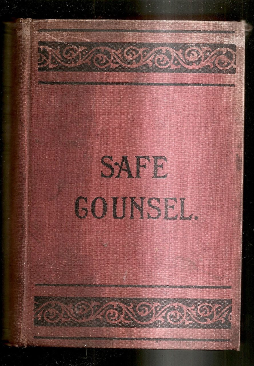 Book-&quot;Safe Counsel&quot;