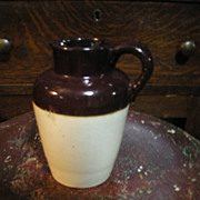 Stoneware Pottery Cream Pitcher