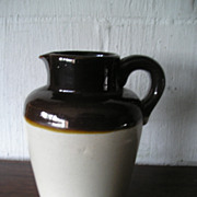 Stoneware Cream Pitcher