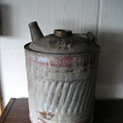 Galvanized Kerosene Oil Can