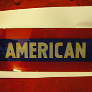 Gasoline Advertising-American-Pump Plate