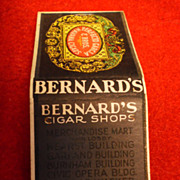 38 - Packs of unused Bernard Cigar Shops Matches