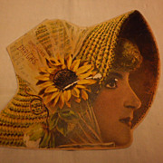 Trade Booklet - Ehrich's Millinery - New York -  Woman in Hat