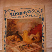 Fleischmann & Co. Jingle Book - Series No. 1 - Advertisement