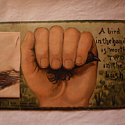 "Trade Card from Needham Piano & Organ Company - ""Bird in Hand"""