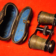 Civil War Period Opera Glasses in Case