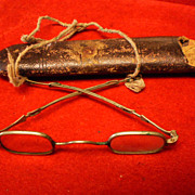 Early Coin Silver Civil War Era Eyeglasses