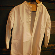Early Hand-Stitched Young Men's Shirt - Excellent Condition