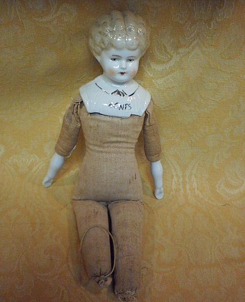 China Head Doll &quot;Agnes&quot; - Germany