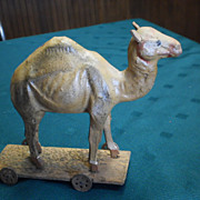 Camel on Platform - German Toy
