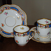 Schumann Bavaria Demitasse Cups & Saucers