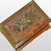 SALE 25% Off! Black Forest Desk Box, Pilatus-Kulm, Ca. 1900