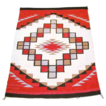 FREE SHIPPING! Ganado Boxed Step Diamond Dazzler Navajo Rug, 30's