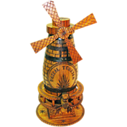 SALE 40% Off!!  Monumental Mezcal Tonayan Windmill Advertising Piece, Ca. 1950