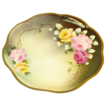 Hand Painted Royal Vienna Plate of Roses, Signed �L. Renault�