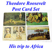 Theodore Roosevelt & Africa, A Boxed Postcard Set, 1909