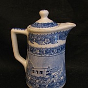 B&O Railroad Shenango Centenary Chocolate Pot