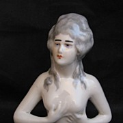 French Half Doll of a Nude Renaissance Woman
