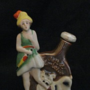 "Figural ""Little Nip"" Liquor Nip - Souvenir of Canada"