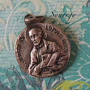St. Loyola/St. Francis French Medallion