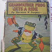 SALE 1927 Grandfather Frog Gets A Ride Harrison Cady