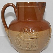 SALE Doulton Lambeth Ware Pitcher