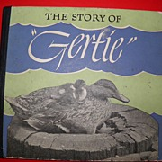 "SALE 1945 The Story Of ""Gertie"" Famous Mallard Milwaukee Icon Book"