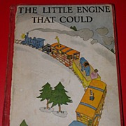 SALE 1930 The Little Engine That Could Book by Lois Lenski