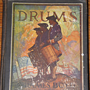 SALE 1928 DRUMS  Book by Boyd Illustrated N.C.Wyeth GREAT