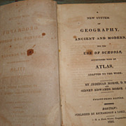 SALE 1822 A New System of Geography book