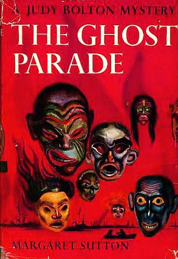 Vintage 1959 `The Ghost Parade' w/ Scarce Red DJ - Judy Bolton Mystery
