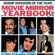 SOLD 1973 MOVIE MIRROR Magazine � Gossip Shockers / Hollywood Photographs / Special Yearbook .