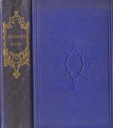 1868 Antique `Poems, Plays And Essays' Book &ndash; RARE / Oliver Goldsmith