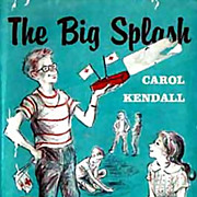 RARE 1960 1st Ed 'The Big Splash' w/ DJ Mystery � Illustrated / Out-Of-Print ...