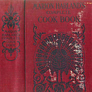 SOLD RARE 1906 1st Ed Marion Harland's Complete Cook Book - Cookery and Housekeeping / Enterta