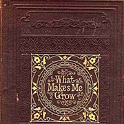 SOLD RARE 1868 1st Ed &quot;What Makes Me Grow&quot; 1st Printing - Amy Dudley / Family Life /