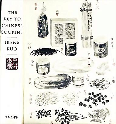 Irene Kuo 'The Key to Chinese Cooking' DJ, 1977 Out-Of-Print - RARE 1st Ed, 1st Print, Illustrated, Vintage
