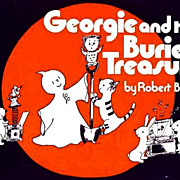 SOLD SCARCE 1979 1st Ed 'Georgie and the Buried Treasure' Ghost Story - Robert Bright / Vintag