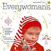 December 1957 'Everywoman's Magazine' Christmas Holiday Issue � Entertaining / Advertising / .