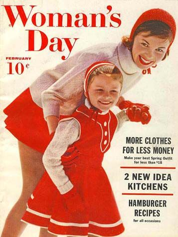 February 1960 Woman's Day Magazine 'Advertising'' - Fashion / Home Decor / Recipes / Vintage