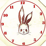 SOLD RARE 1943 1st Ed `Telltime the Rabbit' Animal Story, Clock - Movable Hands, Telling Time