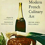 1966 'Modern French Culinary Art' DJ, 1st Ed, 1st Print - Henri-Paul Pellaprat, Gastronomy, Co