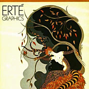 SOLD 1978 1st Ed 'Erte Graphics' Lithograph Paintings - Exotic Art, Five Complete Suites, ...